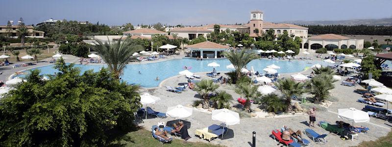 Avanti Holiday Village Paphos Cyprus Pool Area